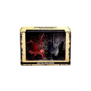 Pathfinder Battles: City of Lost Omens Case (32 Booster) & Adult Red & Black Dragons Premium Set
