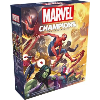 Marvel Champions: The Card Game - Grundspiel - DE