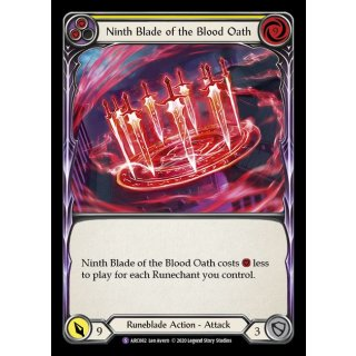 082 - Ninth Blade of the Blood Oath - Yellow