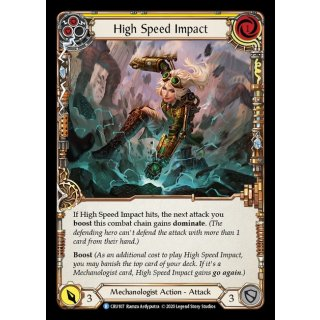 107 - High Speed Impact - Yellow