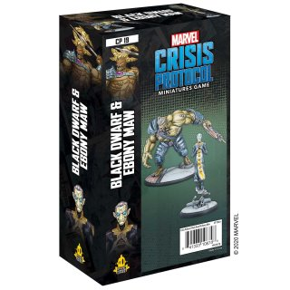 Marvel Crisis Protocol: Black Dwarf and Ebony Maw  - EN