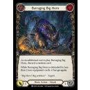 012 - Barraging Big Horn - Blue - Rainbow Foil