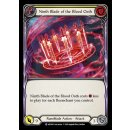 082 - Ninth Blade of the Blood Oath - Yellow - Rainbow Foil