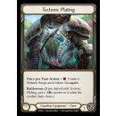 041 - Tectonic Plating - Rainbow Foil