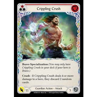 043 - Crippling Crush - Red - FOIL