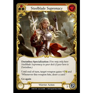 119 - Steelblade Supremacy - Red - FOIL
