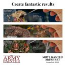 The Army Painter - Most Wanted Brush Set