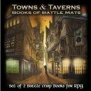 Book of Battle Mats: Towns & Taverns - EN