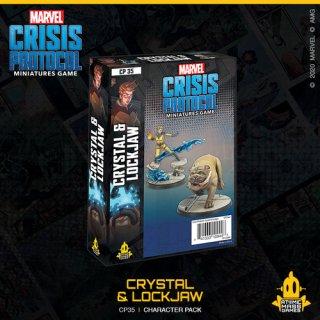 Marvel Crisis Protocol: Crystal & Lockjaw - EN