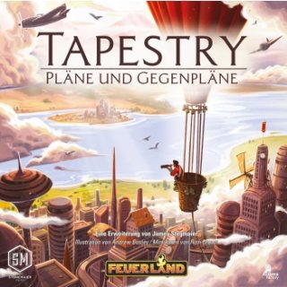 Tapestry: Pläne und Gegenpläne - Erweiterung - DE
