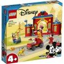 LEGO Mickey & Friends - 10776 Mickys Feuerwehrstation...