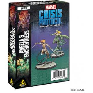 Marvel Crisis Protocol: Angela & Enchantress - EN