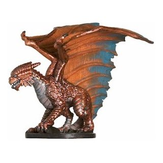 21 Large Copper Dragon
