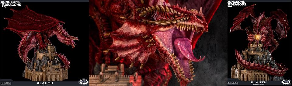 Dungeons & Dragons Statue Klauth PCS